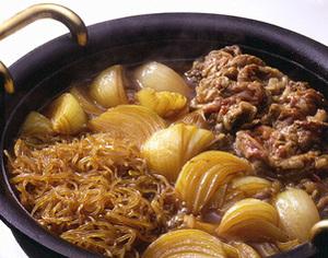 玉ねぎのすき焼き風煮