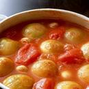 玉ねぎのトマトスープ煮