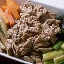 ゆで肉の冷やし鉢
