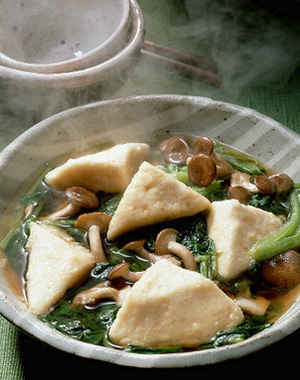 小松菜とはんぺんの煮びたし