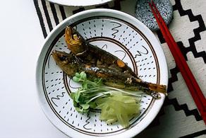 めざしの酢煮