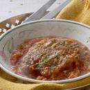 豚ロース肉とセロリ、玉ねぎのトマト煮