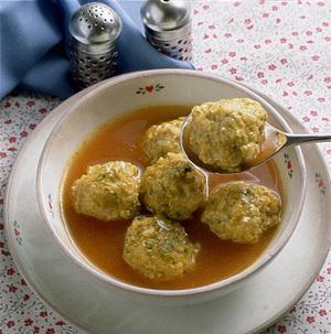 チキンボールのカレースープ