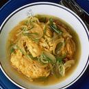 揚げ卵のカレー煮