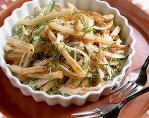 冷凍ポテトの中国風サラダ