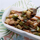 野菜たっぷりのトマト煮風サラダ