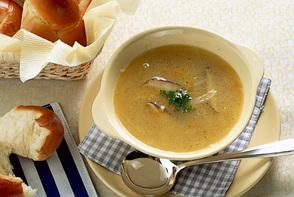 せん切り野菜のスープ