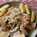 鮭の野菜蒸し