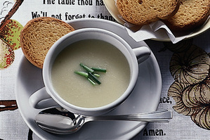 じゃがいもとセロリのスープ