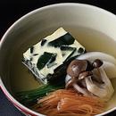 わかめ入り卵豆腐椀