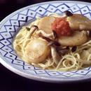 帆立てのスパゲティ