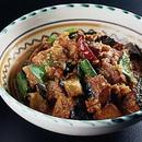 揚げ野菜のカレー煮