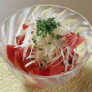 トマトの和風サラダ