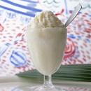 コンデンスミルクのクリームシャーベット