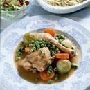 鶏もも肉と野菜のワイン煮