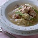 豚ひき肉だんごのスープ煮