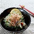 ベーコン入り炒め野菜サラダ