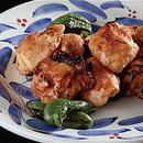 鶏胸肉のオレンジ風味焼き