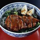 豚ロース肉の焼き肉どんぶり