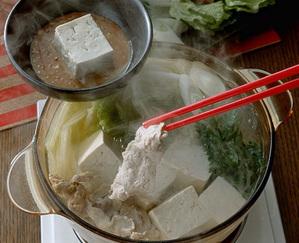 豚しゃぶ豆腐