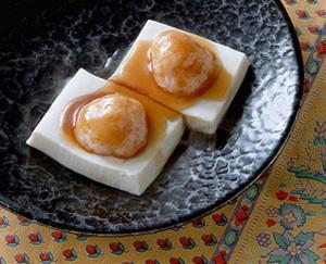 えびだんごのせ豆腐