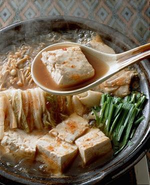 たらとキムチ入り韓国風スープ煮