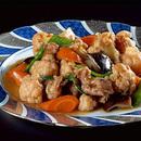 カリフラワーと豚薄切り肉のうま煮