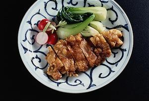 豚ロースの中国風天ぷら
