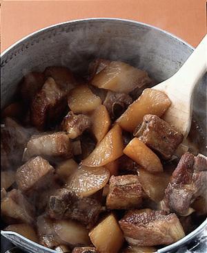 大根とスペアリブの大和煮