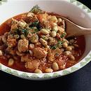 豚肉と大豆のピリ辛トマト煮