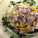 豆腐と豚しゃぶのサラダ
