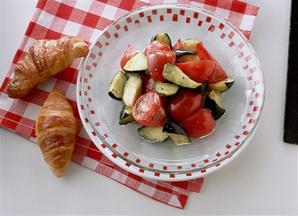 トマトとなすのイタリアンサラダ