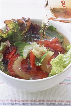 トマトのあっという間スープ