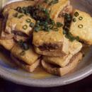 豆腐のひき肉はさみ煮