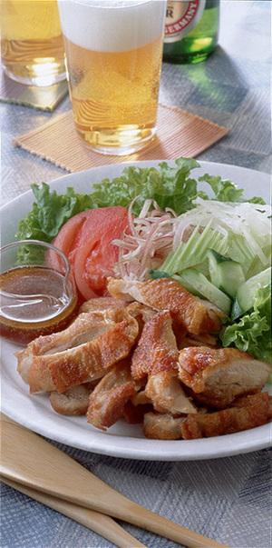サラダ風鶏のから揚げ