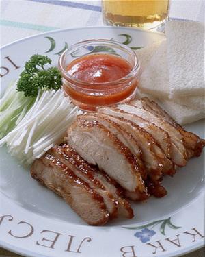 甘みそ風味の鶏照り焼き