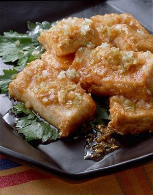 揚げ豆腐の風味漬け