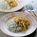 鶏肉のカレークリーム煮