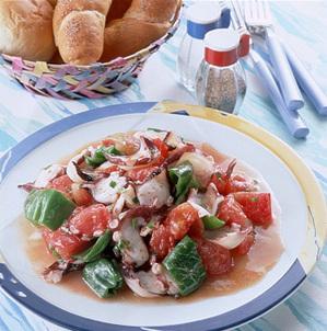 夏野菜のスパイスソテー