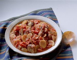 スペアリブと新しょうがのトマト煮