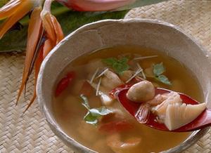 タイ風えびの辛みスープ