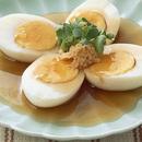 ゆで卵の和風あんかけ