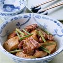豚バラ肉と豆腐の煮込み