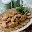 鶏手羽先のスパイス焼き