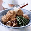鶏つくねのふっくら煮