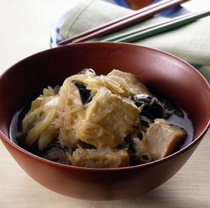 炒め豆腐のすき煮