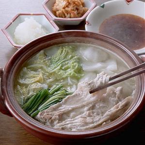 韓国風豚しゃぶ