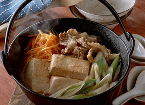 みそ肉豆腐