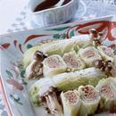 白菜のひき肉巻き蒸し