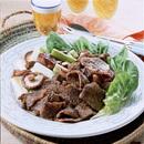 牛カルビ肉の山椒焼き